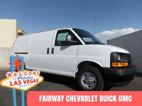 New Chevrolet Express Cargo Van G2500