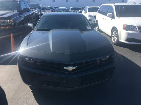 Pre-Owned 2013 Chevrolet Camaro LS RWD 2dr Car