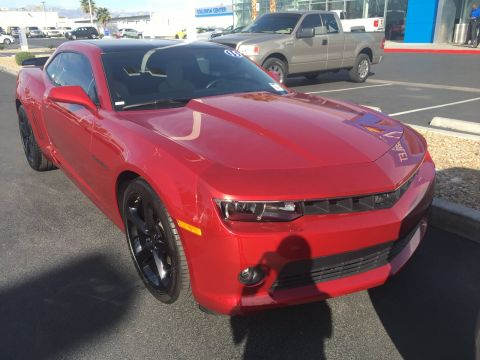 Pre-Owned 2015 Chevrolet Camaro LT RWD 2dr Car